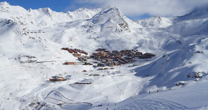 3 Valleys - village in Val Thorens - Skipodium