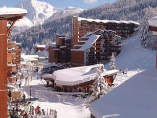 La Tania, France - hotel on the slopes