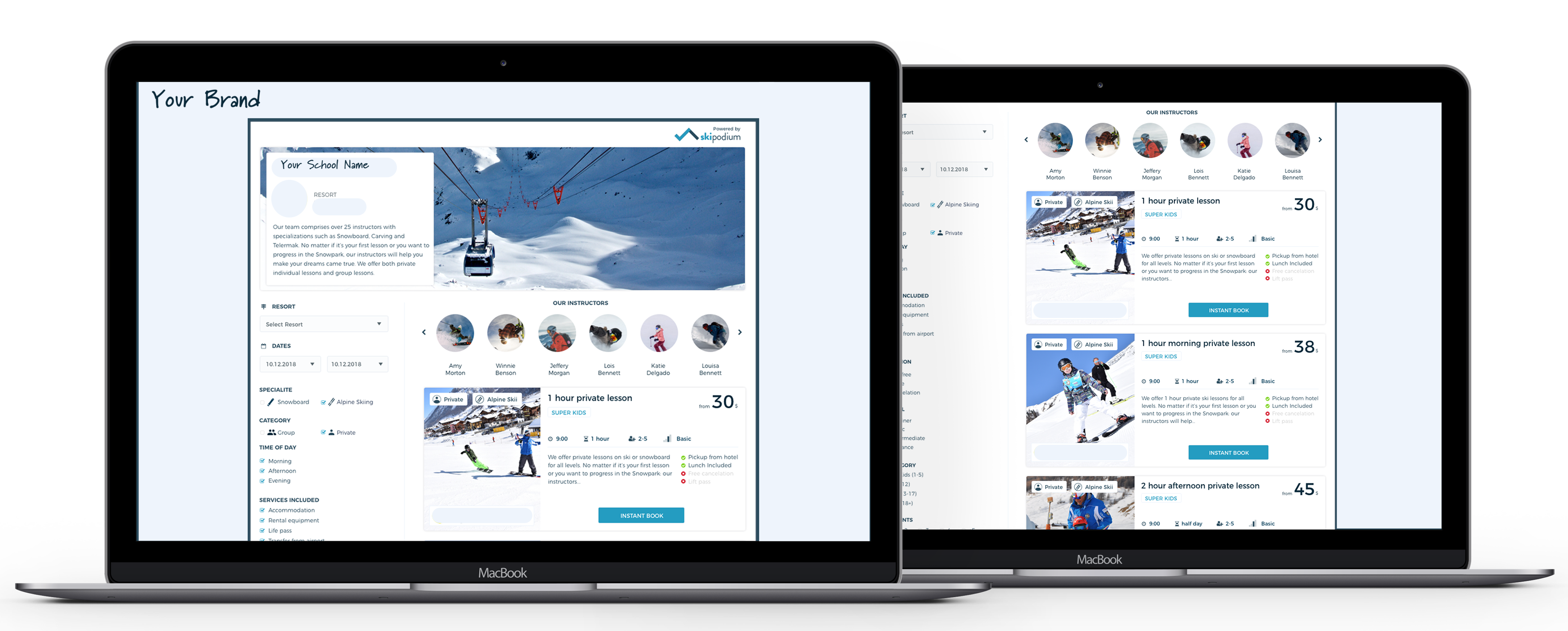 Whitelabel, Skipodium, Online Sales, Management Software