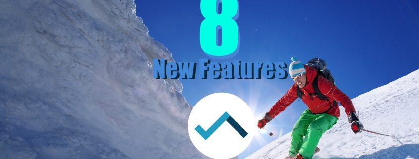 new features, skipodium, sales channels, ski, snowsports, snowboard, winter season