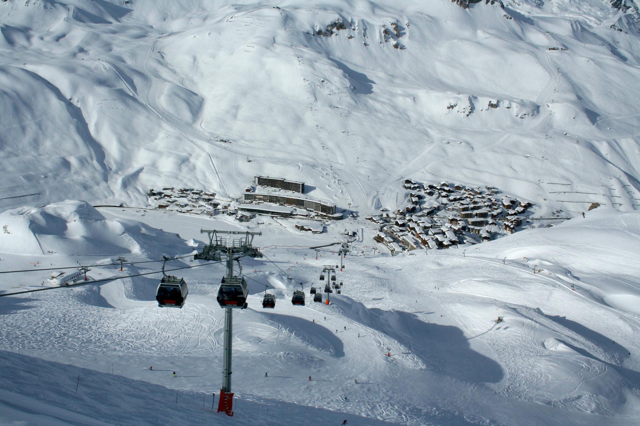 Heavy snow, Tignes, Skipodium, Ski school, Ski fun