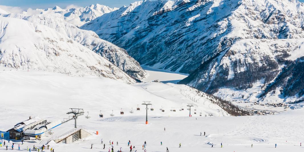 piste da sci Livigno Italia