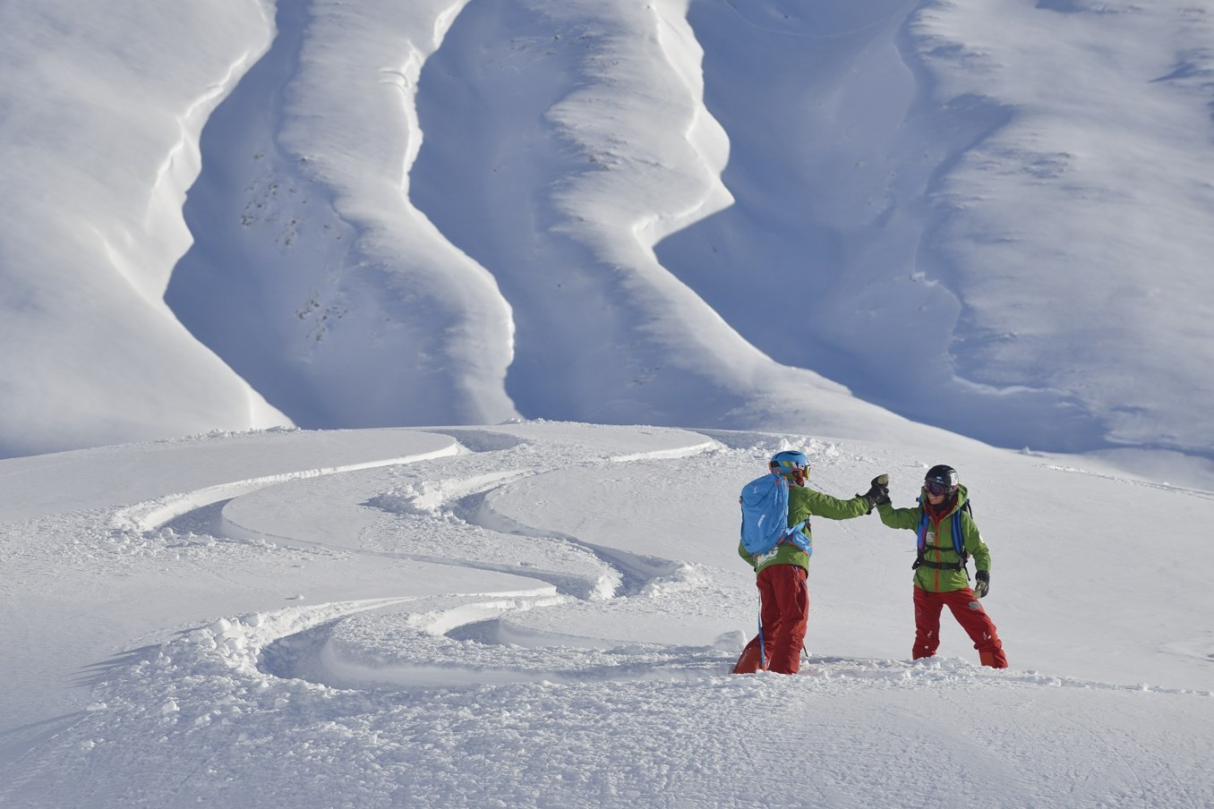A-Z Skischule Arlberg, high five, ski school, guide, guiding, book ski lesson