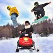 Kovo Snowmobiles Sestriere