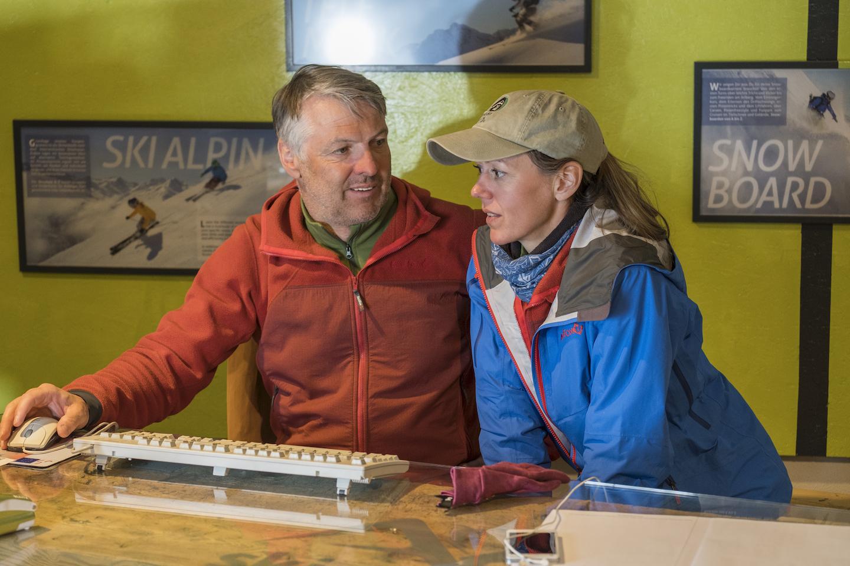 Anton Zangerle, founder, ski school director, AZ skischule, Arlberg